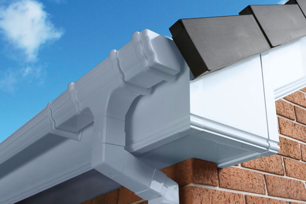 a roofline installation in London