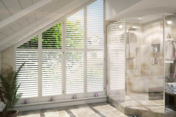 an image showing that we offer a wide range of window shutters in Sevenoaks